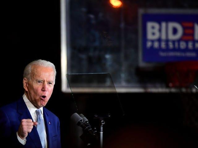 Biden nói về thương hiệu, Bernie giành được các quốc gia hút thuốc và các hành động khác từ siêu thứ ba