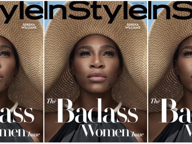 Bona Fide Badass: Serena Williams Covers InStyle's Badass Women Issue
