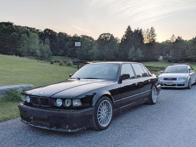 At $6,500, Are You Bold Enough to Buy This Blown 1988 BMW 750iL?