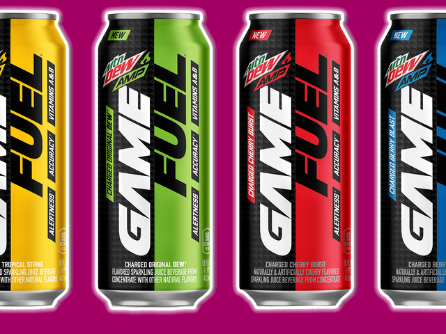 Every Flavor Of Game Fuel Reviewed And Then Mixed Together