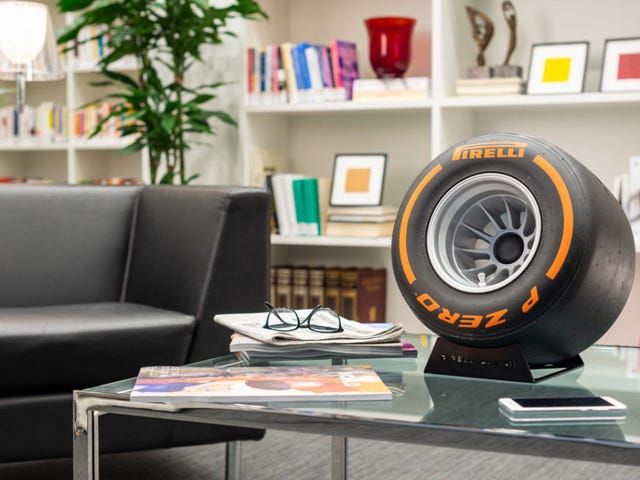 Which of You Nerds Is Going to Buy This Pirelli Bluetooth Speaker?