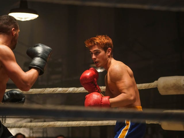 Archie stings like a butterfly, floats like a big beautiful idiot through a punch-drunk Riverdale
