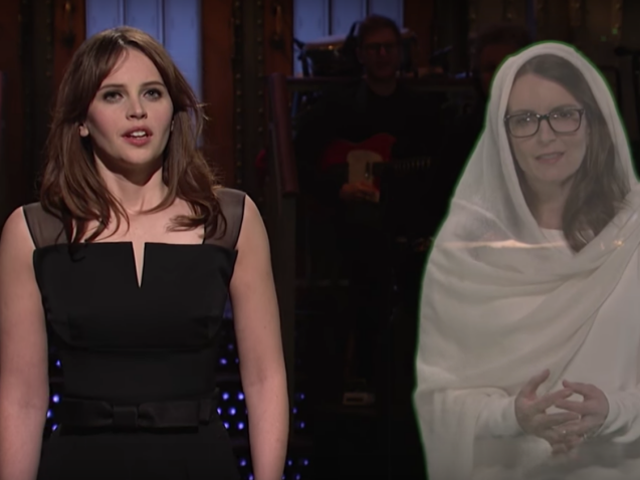 Felicity Jones Name-Drops <i>Star Wars</i> , Seperti, Lot Semasa <i>SNL</i> Monologue