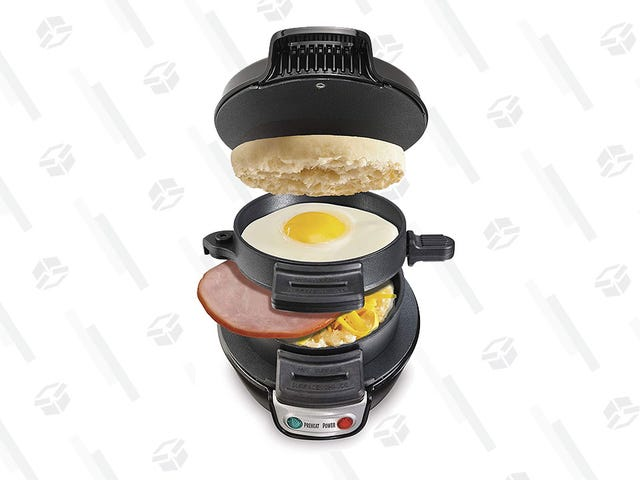 This Hamilton Beach Breakfast Sandwich Maker is Only $25
