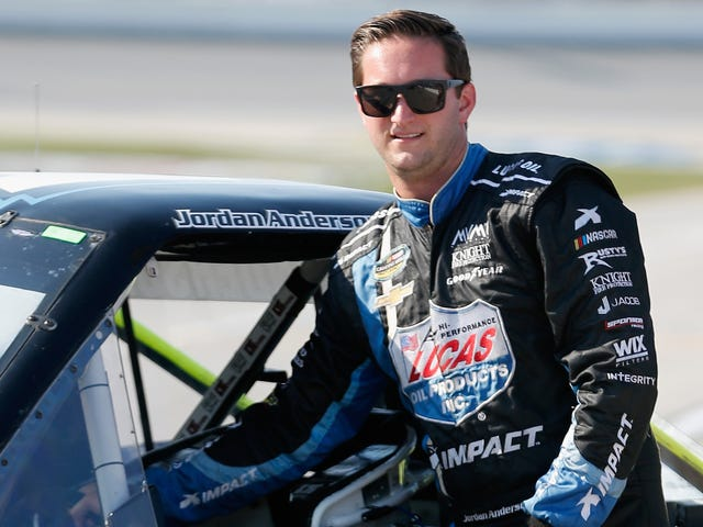 NASCAR Driver Jordan Anderson Wanted for Possession of Stolen Truck (Updated)