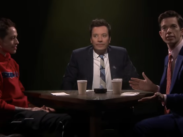 Pals John Mulaney, Pete Davidson, and Jimmy Fallon are terrible at guessing each other's secrets