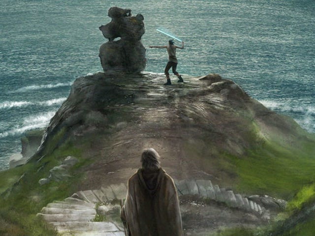 Vas a querer imprimir todos estos geniales pósteres de <i>Star Wars: The Last Jedi</i>