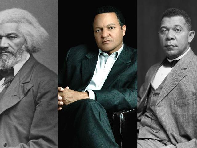 Vivre avec l'histoire: Frederick Douglass, booker T. Washington, l'héritier a vu le fardeau et la beauté du patrimoine de ses ancêtres