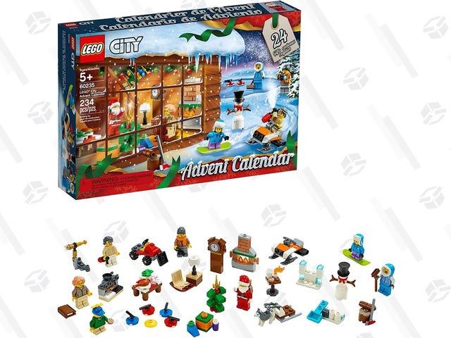 LEGO's City Advent Calendar Includes 24 Surprises For $20