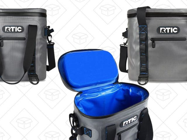 Never Drink Warm Beer Again With These Soft Pack RTIC Coolers