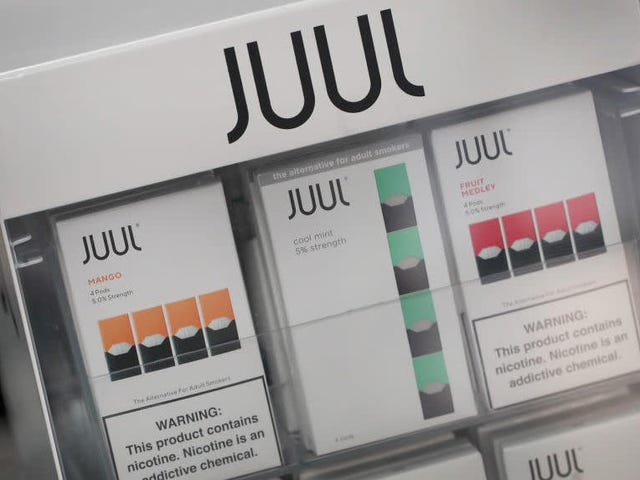 Goodbye to the Only Good Juul Flavor