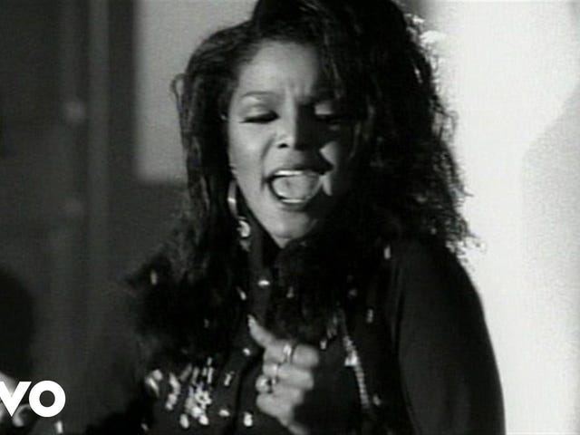 Janet Jackson -- 'Miss You Much'