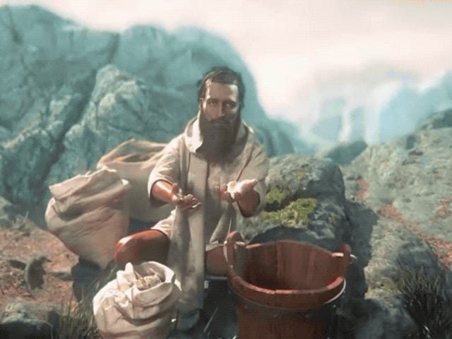 Τώρα υπάρχει ένα παιχνίδι όπου παίζετε κυριολεκτικά τον Ιησού Χριστό για κάποιο λόγο
