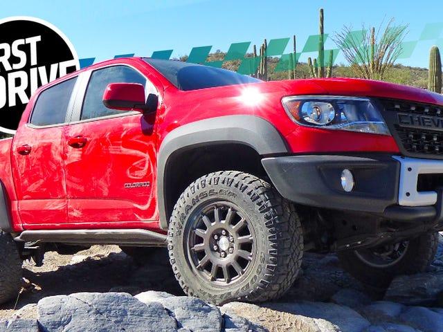 Here''s Чому 2019 Chevy Colorado ZR2 Бізон може Взяти Такий Забиваючий-Дорога