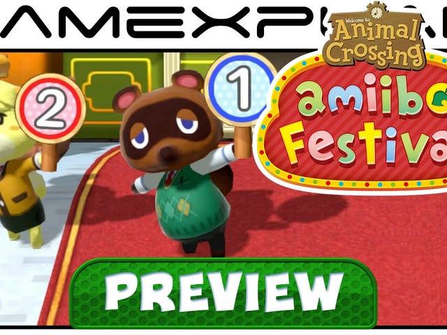 Nintendo Goes Grimdark with Animal Crossing: Amiibo Festival's Desert Island Escape