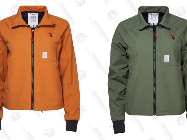 Windbreaker Weather Is Almost Here: Save Over $50 On Topo Design's Wind Jacket.