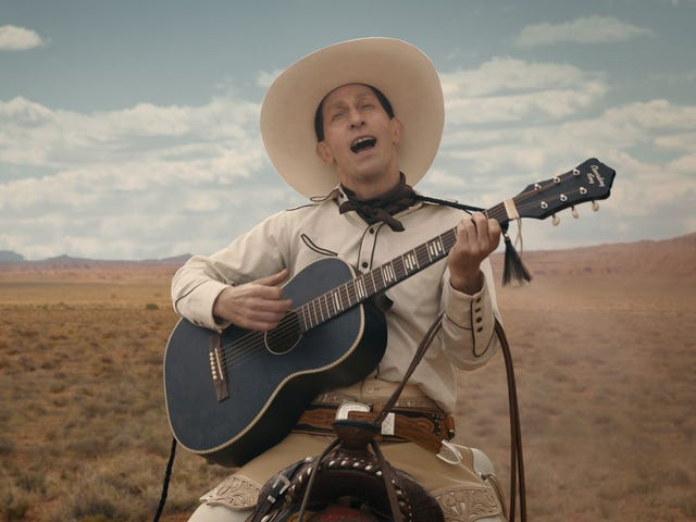 """When a Cowboy Trades His Spurs For Wings"" - The Ballad of Buster Scruggs OST (2018)"