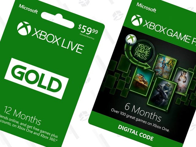 Only a Few Days Left to Save Big On Xbox Live Gold and Xbox Game Pass