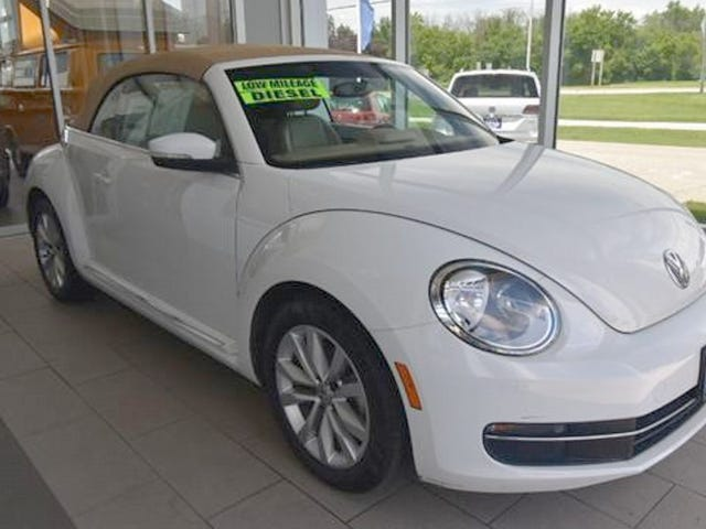 At $19,991, Could You Love This 2014 Diesel-Manual VW Bug?