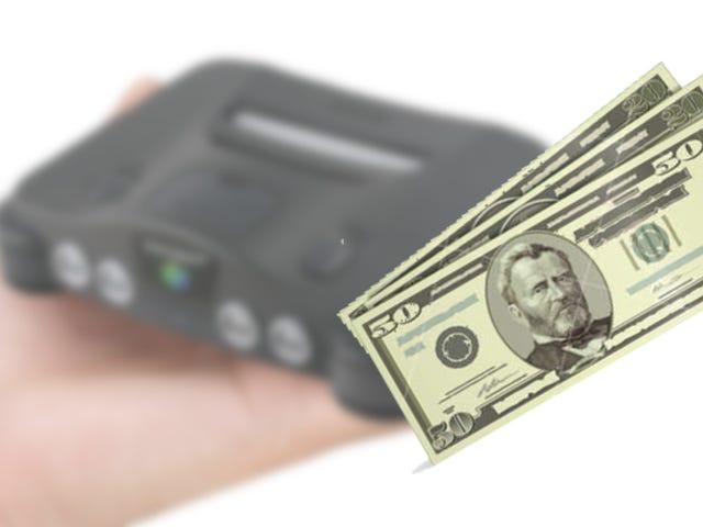 任天堂64 Mini的问题 - 第四部分 - 价格问题