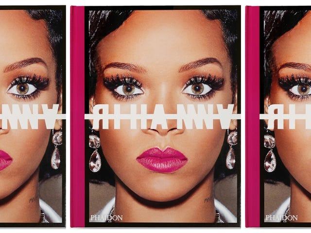O Natal está chegando cedo!  Rihanna lança um livro de mesa de café com mais de 500 páginas