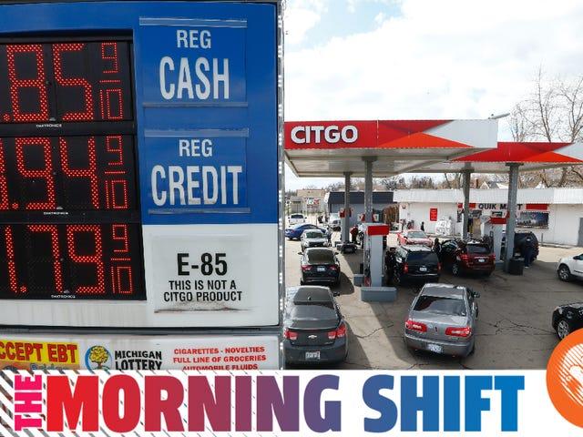 Gas có thể có ít hơn $ 1 Một gallon ở Michigan