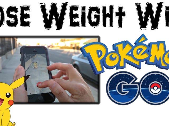 얼마나 많은 <i>Pokémon Go</i> 가 실제로 체중을 줄이기 위해 플레이해야할까요?