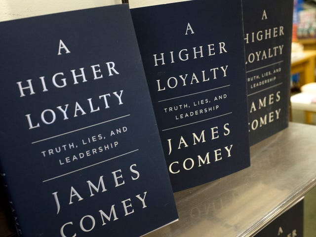 The most shocking thing about James Comey's book is how much it sucks