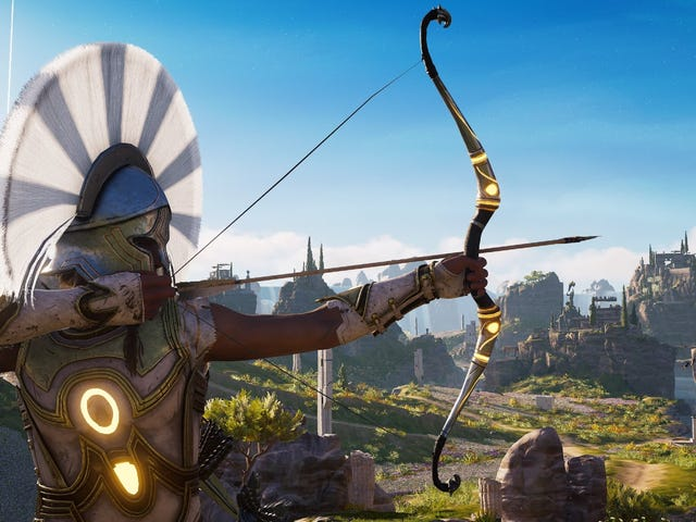 I'm A Little Tired Of This One <i>Assassin's Creed Odyssey</i> Bow