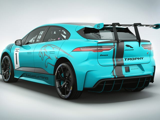 Holy Crap, There's A New Racing Series Just For The Jaguar I-Pace Of All Things