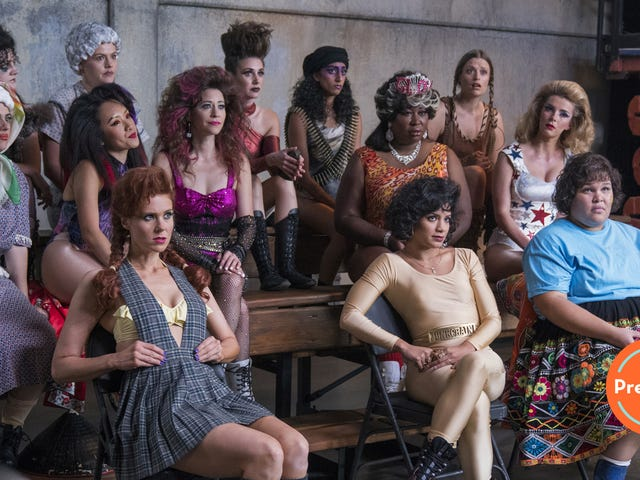 GLOW returns, more or less ready to make history