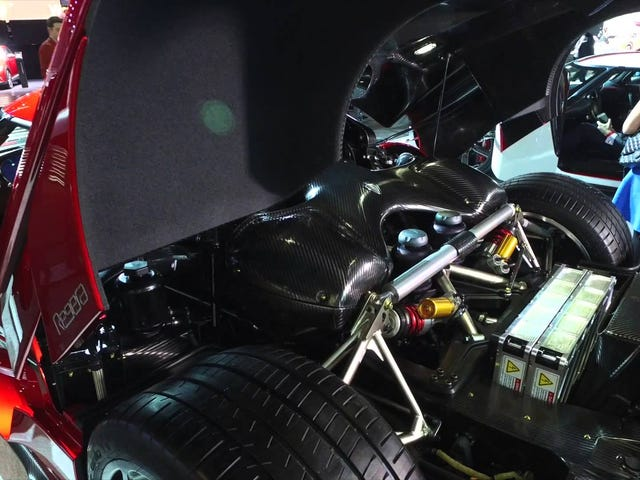 The Koenigsegg Regera at NYIAS