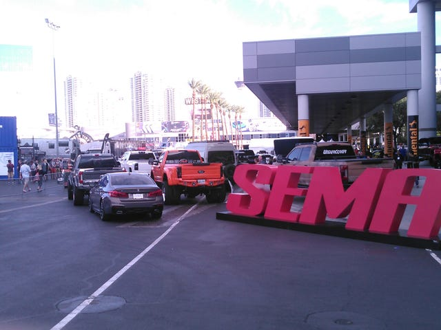 SEMA 2017 - One Jalop's Visit to the World's Biggest Automotive Aftermarket Show (Part 1 - General Stuff)