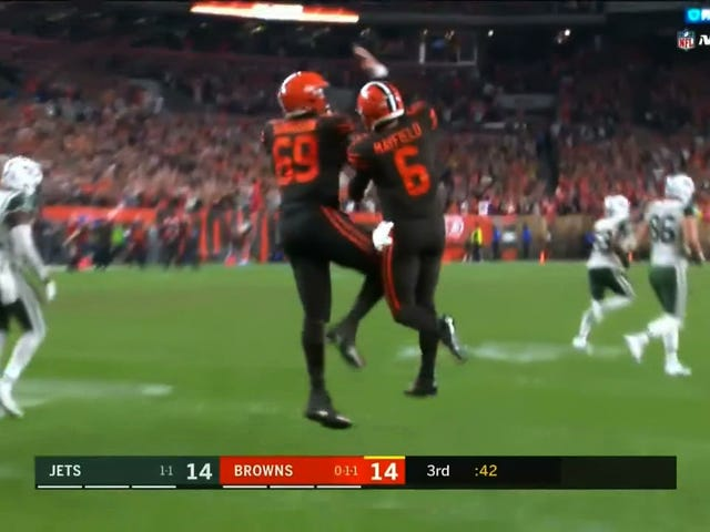 Baker Mayfield Is Playing Like He's Not A Browns Quarterback