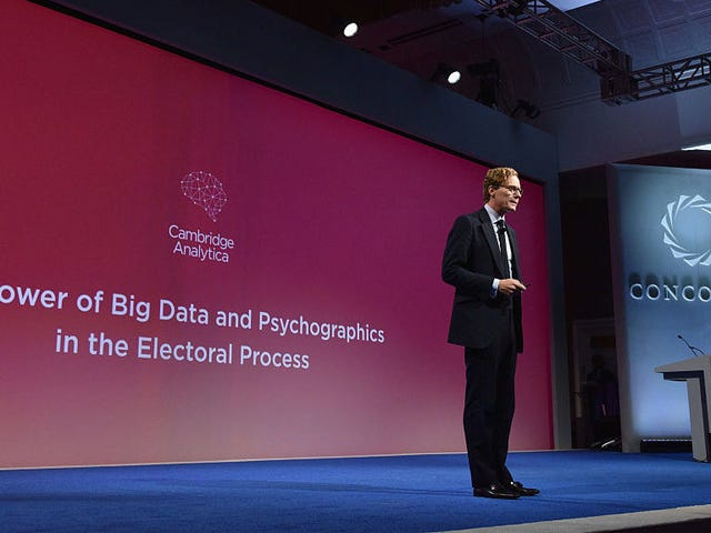 Facebook Will Audit Cambridge Analytica to Find Out If It Still Has Scraped Profile Data [Updated]