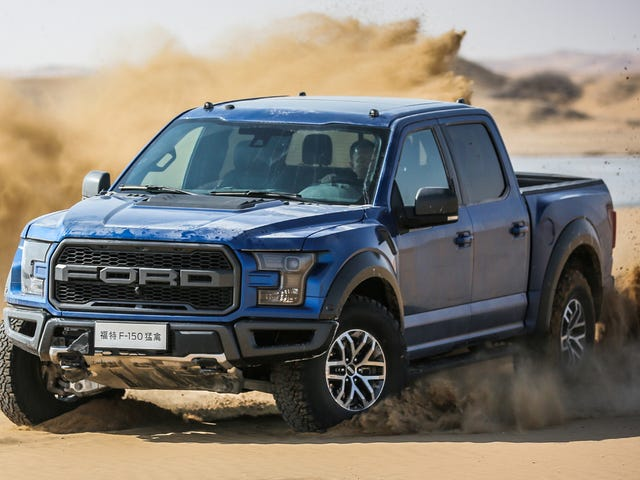 Ang 2017 Ford Raptor Costs A Lot Higit Sa Tsina