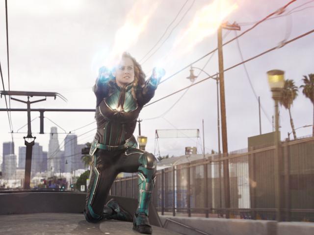 Dưới đây là một số cảnh quay hành động ngọt ngào của <i>Captain Marvel</i> , lịch sự của Brie Larson