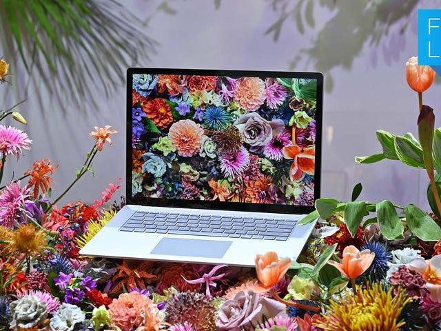 Surface Laptop 3 og Surface Pro 7-omlægninger er en port, der ikke er ideel