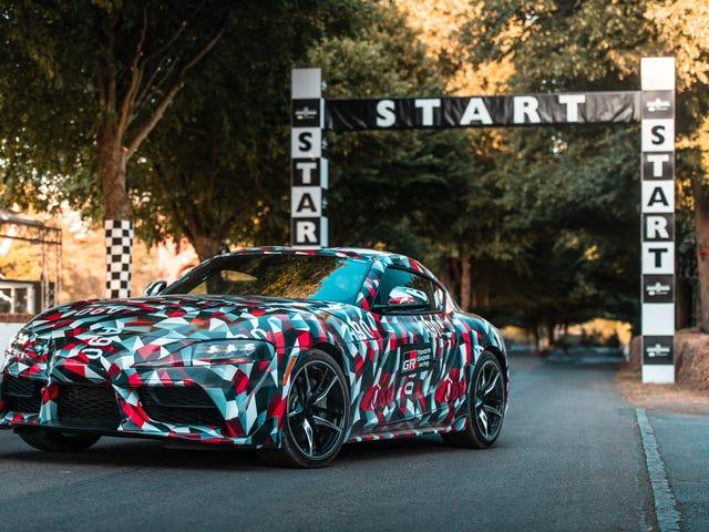 Toyota Confirms a Four-Cylinder Supra