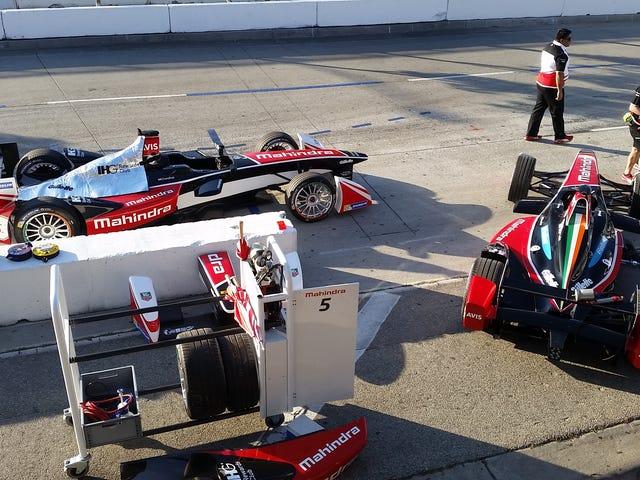Formel E vil ikke måtte bytte biler midt i rase neste sesong