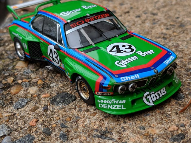 "LaLD ///May: BMW #43 3.5 CSL ""Batmobile"""