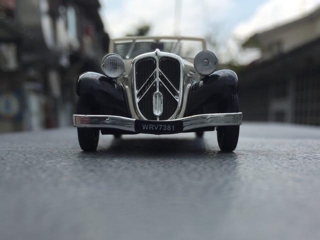 Ranskalainen perjantai: Citroën Traction Avant vaihdettavissa