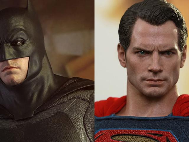 Giant Nacke och Stern ser överflödig i Hot Toys &quot; <i>Batman v Superman</i> Figures