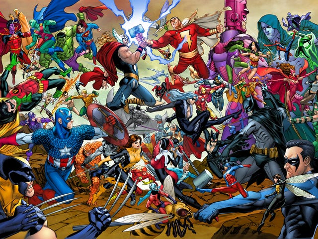 Podcast: The Superhero Show