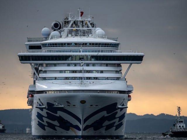 Avec l'arrivée de passagers de navires de croisière infectés, les États-Unis doublent pratiquement leurs cas de coronavirus