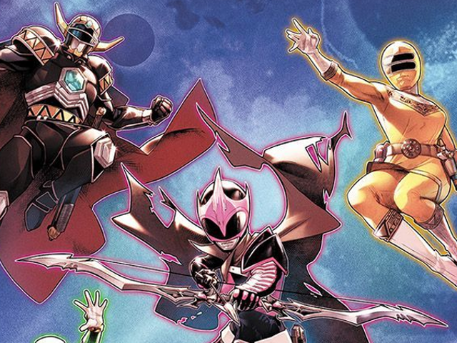 The Power Rangers Comic is Getting a New Creative Team—and a Wild New Team of Rangers