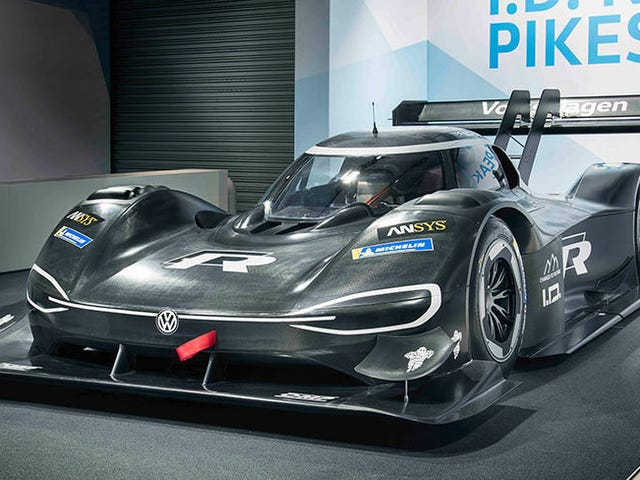 Volkswagen Says Its New All-Electric Prototype Racer Is Faster Than An F1 Car