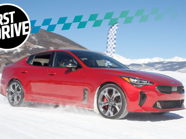 The AWD 2018 Kia Stinger GT Will Leave You Begging For A New Ice Age