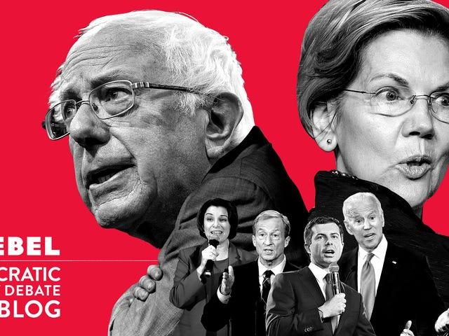 Mama und Papa bitte nicht trennen: Ein demokratischer Debatten-Liveblog