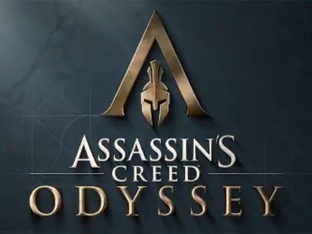 새로운 누출은 고대 그리스에서 <i>Assassin's Creed Odyssey</i> [UPDATE : Official]